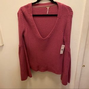 Free People sweater, new with tags
